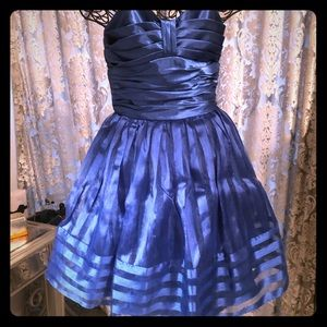 BETSEY JOHNSON ROYAL BLUE PARTY DRESS SIZE 4